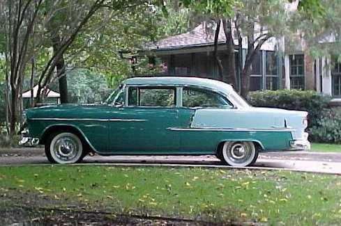 Dan 39 s classic auto parts cars tech info for 1955 chevy 4 door to 2 door conversion